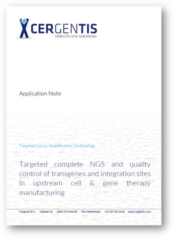 Application note - cell and gene therapy upstream
