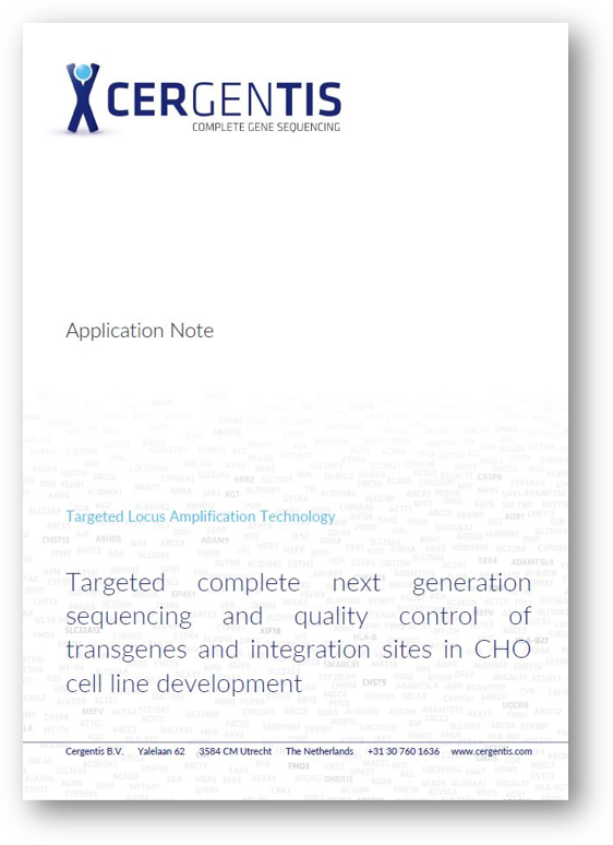 Application note - CHO cell line development