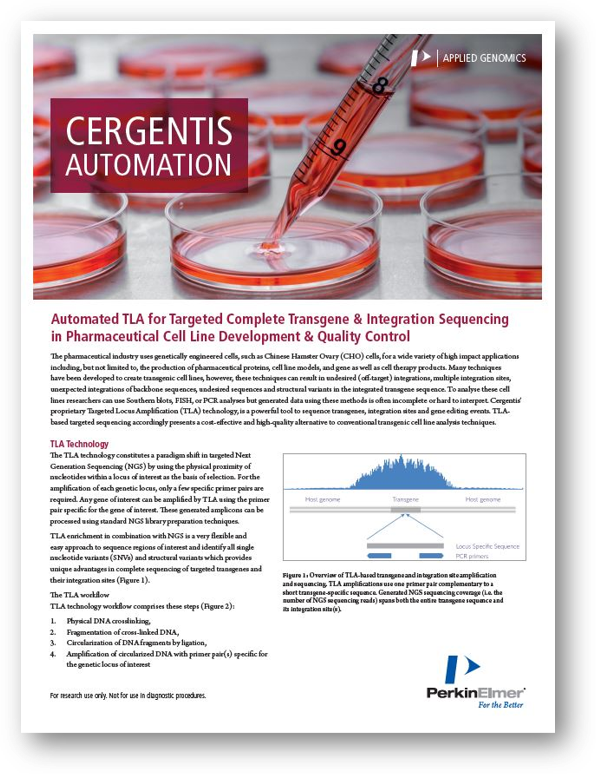 Application note - TLA automation with PerkinElmer
